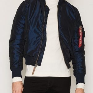Alpha Industries MA-1 VF 59 Iridium Bomber-takki Blue