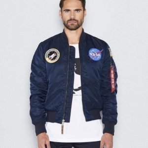 Alpha Industries MA-1  VF Nasa 07 Replica Blue