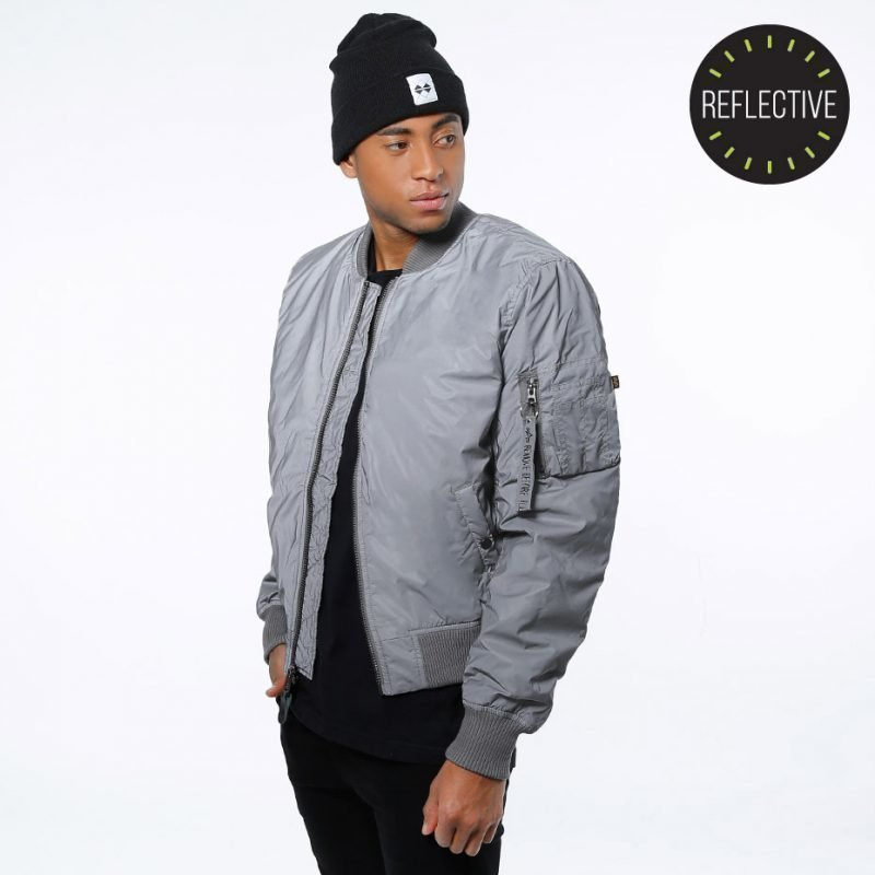 Alpha Industries MA-1 VF Reflective -takki