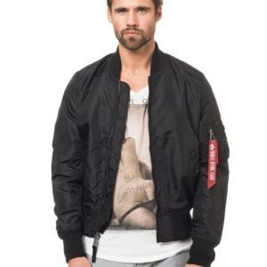 Alpha Industries MA1 TT Bomber Jacket Black