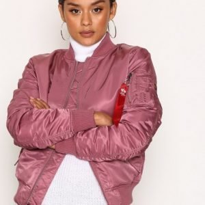 Alpha Industries Ma-1 Sf Wmn 80'S Oversize Bomber Takki Dusty Pink