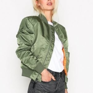 Alpha Industries Ma-1 Sf Wmn 80'S Oversize Bomber Takki Green