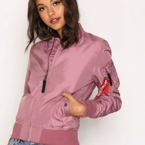 Alpha Industries Ma-1 Tt Wmn Bomber Takki Dusty Pink