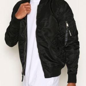 Alpha Industries Ma-1 Vf Lw Bomber-takki Black/Chrome