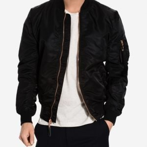 Alpha Industries Ma-1 Vf Lw Bomber-takki Black/Copper