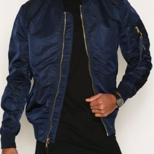 Alpha Industries Ma-1 Vf Lw Bomber-takki Gold/Blue