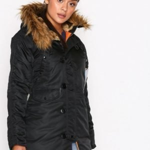 Alpha Industries N-3 B Vf 59 Wmn Untuvatakki Black