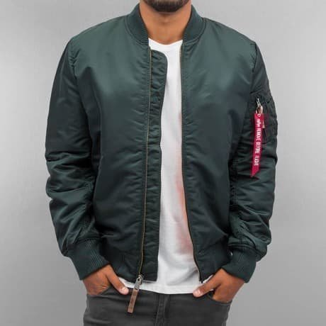 Alpha Industries Pilottitakki Turkoosi