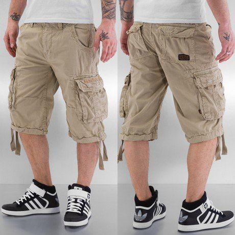 Alpha Industries Shortsit Beige
