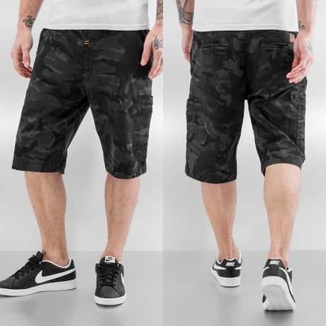 Alpha Industries Shortsit Musta