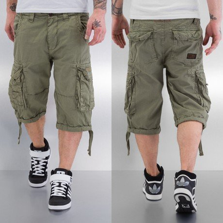 Alpha Industries Shortsit Oliivi