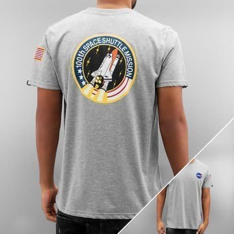 Alpha Industries T-paita Harmaa