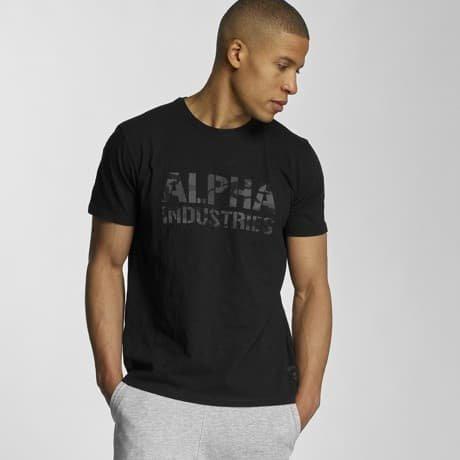 Alpha Industries T-paita Musta