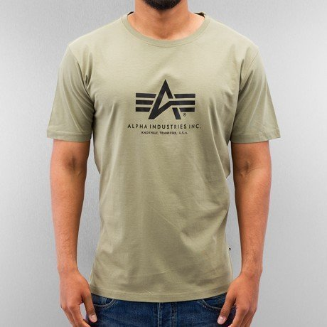 Alpha Industries T-paita Oliivi