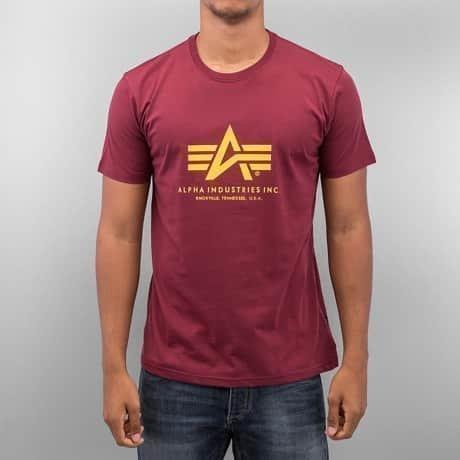 Alpha Industries T-paita Punainen