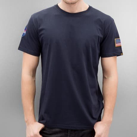 Alpha Industries T-paita Sininen