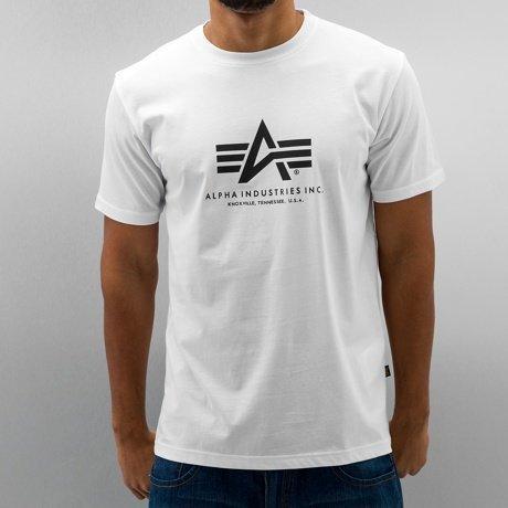 Alpha Industries T-paita Valkoinen
