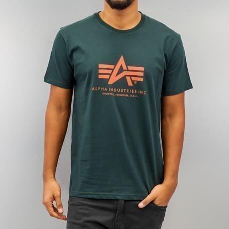 Alpha Industries T-paita Vihreä
