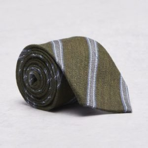Amanda Christensen Black Collection Tie 8 cm Green