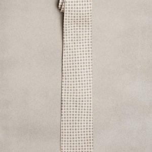 Amanda Christensen Classic Tie Linen Solmio Cream
