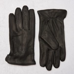 Amanda Christensen Deer Skin Glove Black