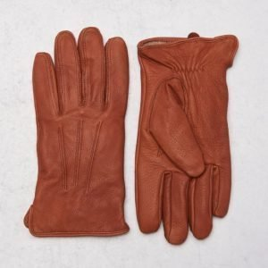 Amanda Christensen Deer Skin Glove Brown