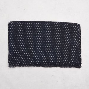 Amanda Christensen Dot Scarf Navy