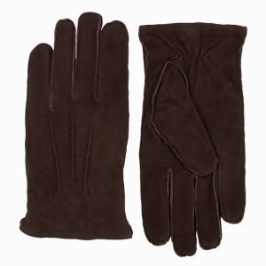 Amanda Christensen Gents Glove Käsineet Brown
