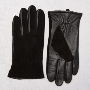 Amanda Christensen Nubuck Glove Black