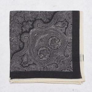 Amanda Christensen Pocket Square Black