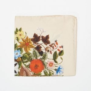 Amanda Christensen Pocket Square Cream