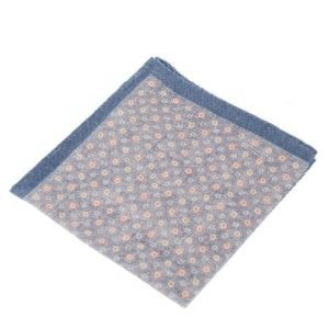 Amanda Christensen Pocket Square Navy