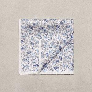 Amanda Christensen Pocket Square Silk Taskuliina Valkoinen
