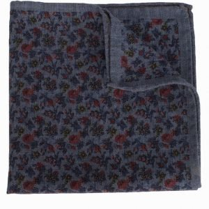 Amanda Christensen Pocket Square Taskuliina Blue