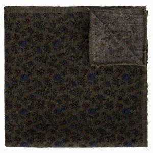 Amanda Christensen Pocket Square Taskuliina Green