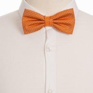 Amanda Christensen Pre Tie Silk Rusetti Oranssi