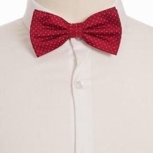 Amanda Christensen Pre Tie Silk Rusetti Red