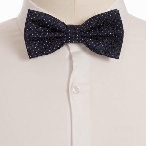Amanda Christensen Pre Tie Silk Rusetti navy/white
