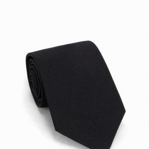 Amanda Christensen Silk Tie Solmio Black