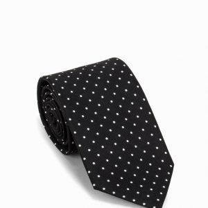 Amanda Christensen Silk Tie Solmio Black/White