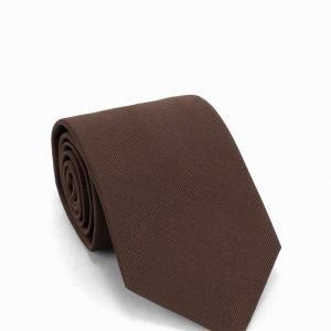 Amanda Christensen Silk Tie Solmio Brown