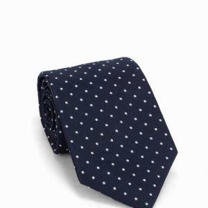 Amanda Christensen Silk Tie Solmio navy/white