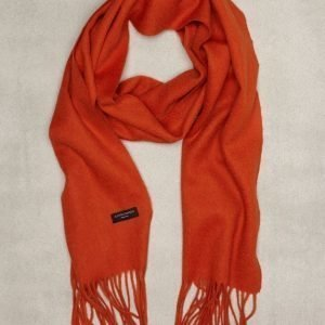 Amanda Christensen Winterscarf Kaulahuivi Oranssi