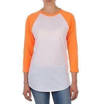 American Apparel UNISEX POLY-COTTON 3/4 SLEEVE RAGLAN pitkähihainen t-paita