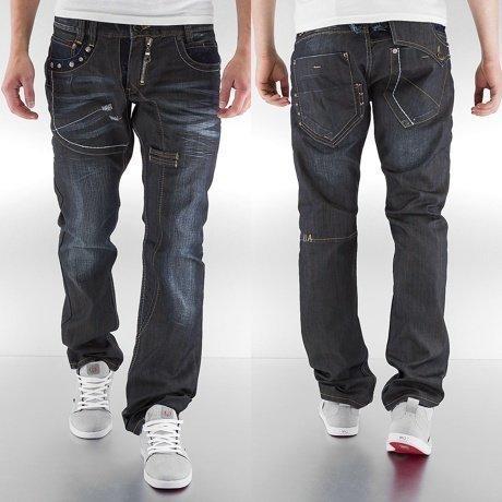Amica Jeans Straight Fit Farkut Sininen