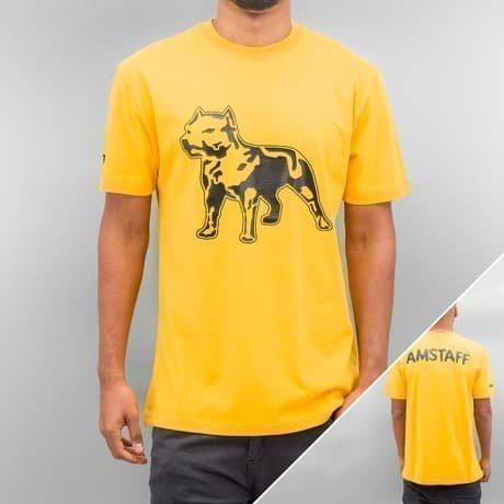 Amstaff T-paita Keltainen