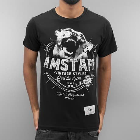 Amstaff T-paita Musta