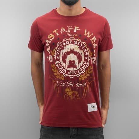 Amstaff T-paita Punainen