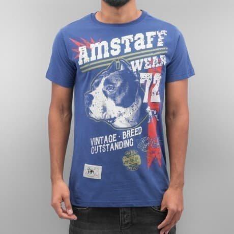 Amstaff T-paita Sininen