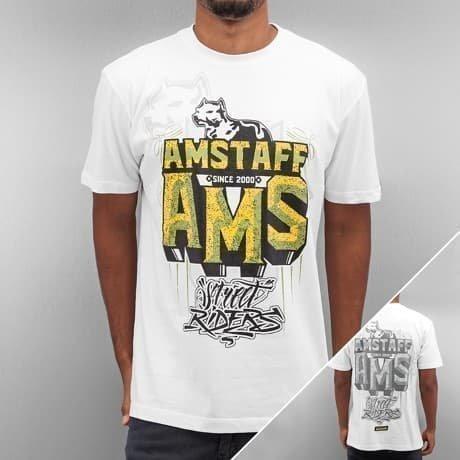 Amstaff T-paita Valkoinen